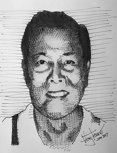 dr penson sketch
