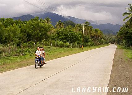 davao oriental roads